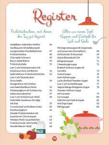 Buch Meine liebsten Low Carb Rezepte Vorschau Rezepte