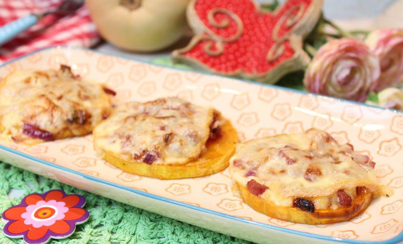 Raclette-Landjäger-Butternut-Taler