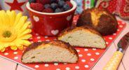 Kokos-Quark-Frühstücksbrötchen