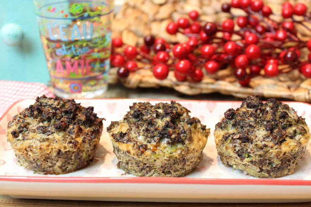 Blutwurst-Gemüse-Muffins