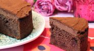 Triple-Chocolate-Cake mit Frosting