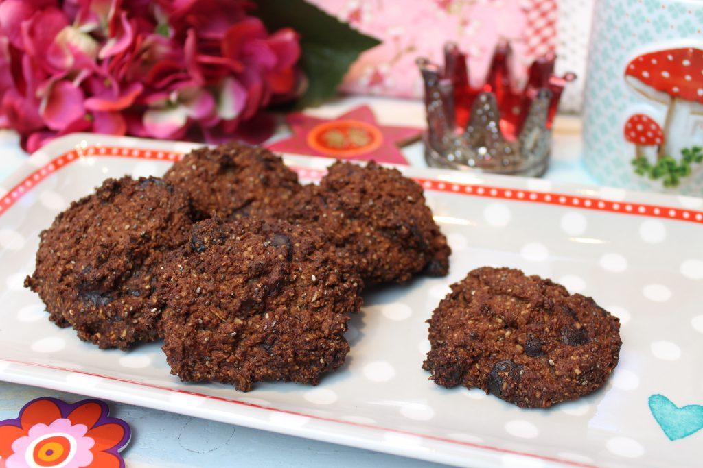 Haferkleie-Schoko-Kekse