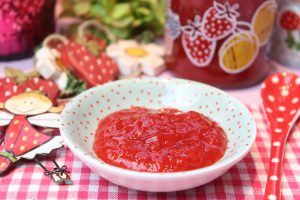 Low Carb Erdbeer-Grapefruit-Marmelade