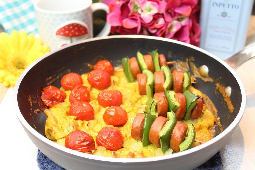 Spießiges Frühstück aus der Pfanne