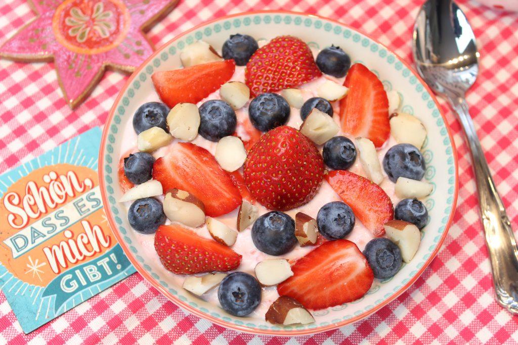 Fruchtige Frühstückscreme