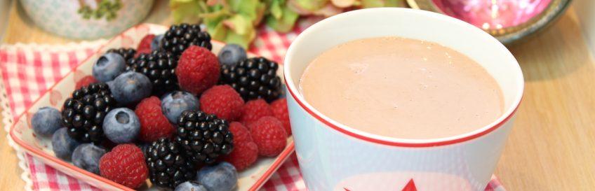 Haselnuss-Schoko-Joghurt-Shake