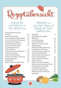 Rezeptübersicht Mehr Low-Carb-Lieblingsrezepte, PDF, 2 MB