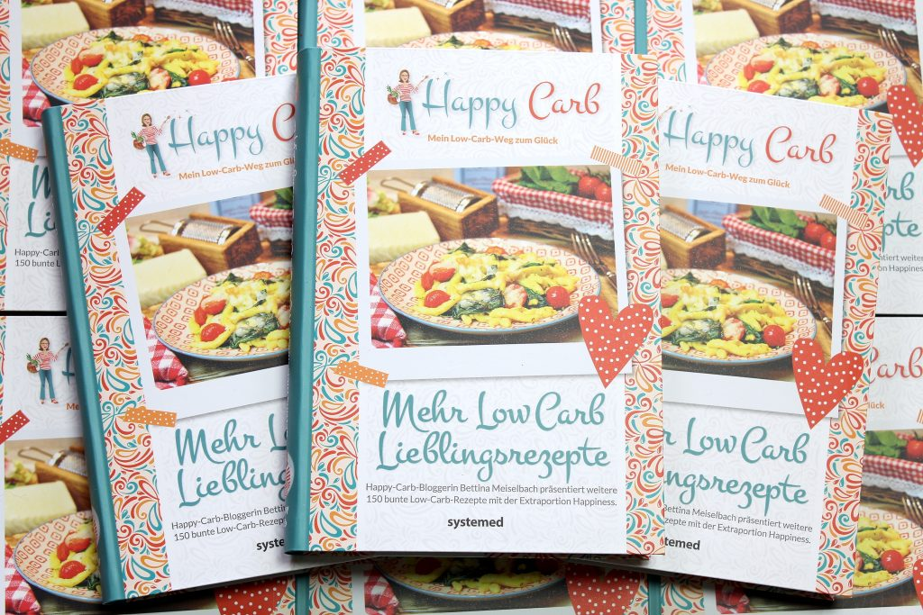 Mehr Low-Carb-Lieblingsrezepte - Happy Carb Bücher
