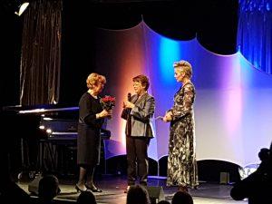 Diabetes Charity Gala 2017 - Dr. Karin Lange mit Mutter