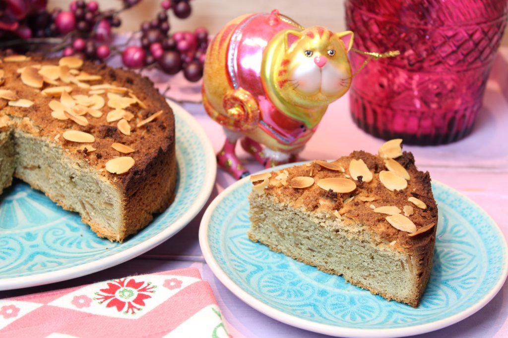 Mandel Spekulatius Kuchen Happy Carb Rezepte