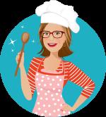 Betti mit Kochlöffel