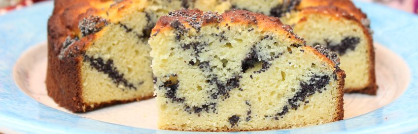 Mohnstrudel-Kuchen