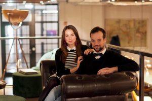 Die Gründer von Shileo: Anja & Cyrille