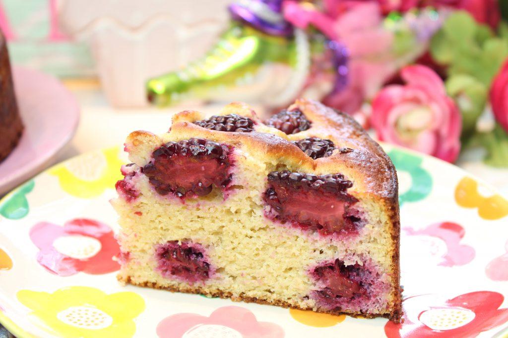 Brombeer Joghurt Haferkleie Kuchen Happy Carb Rezepte