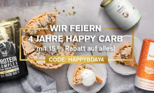 nu3-Aktion von Happy Carb
