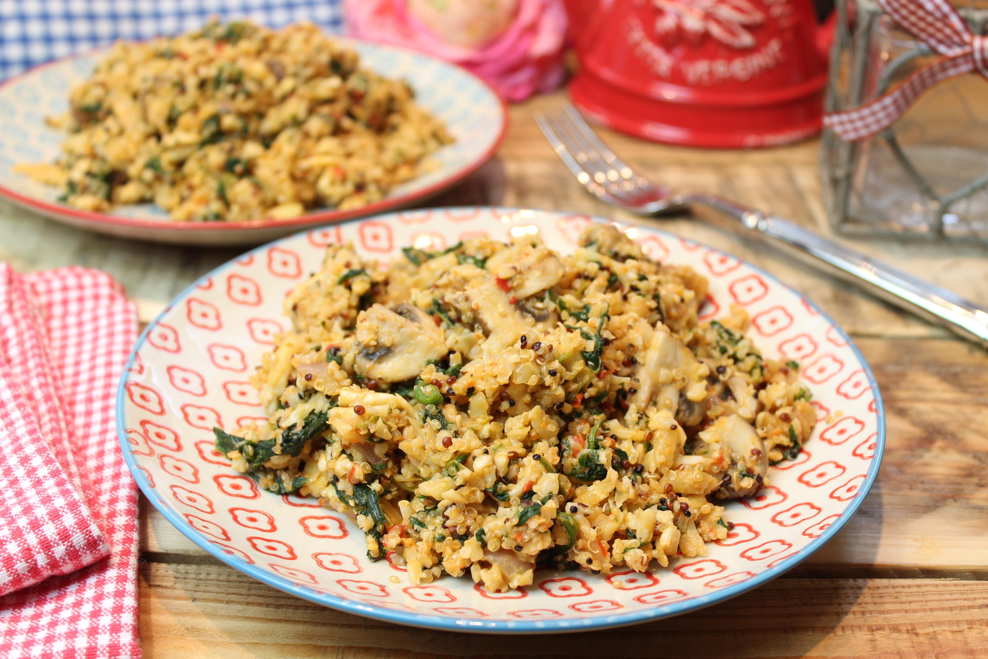 Quinoa-Blumisotto