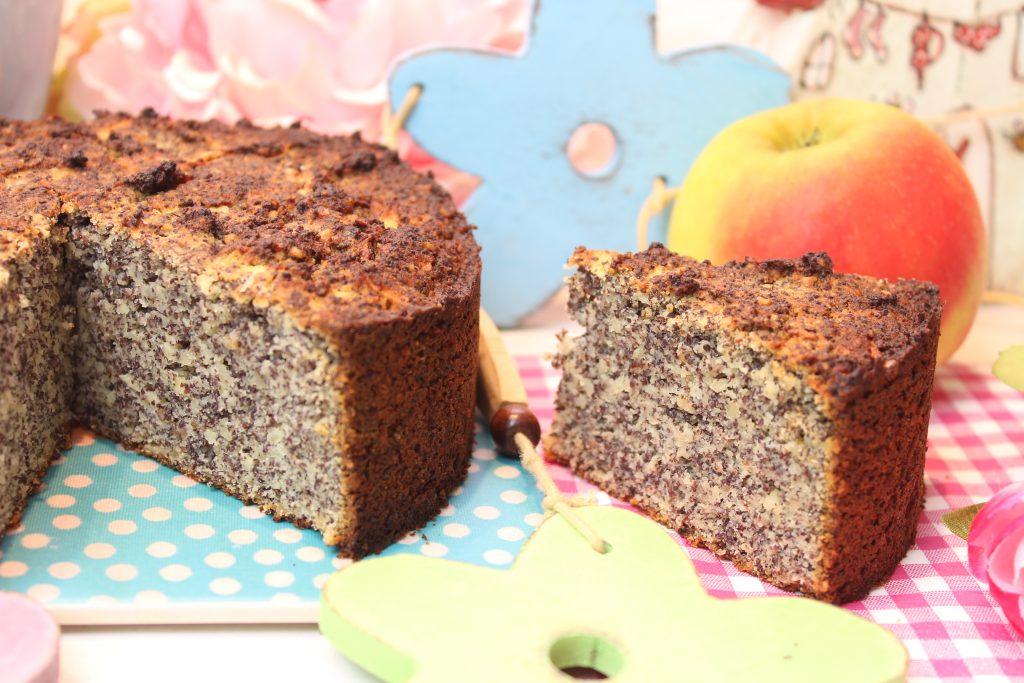 Nussiger Apfel-Mohnkuchen