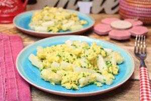 Keto-Spargel-Eierpfanne