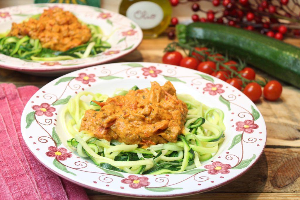 Veggie-Schlemmer-Zucchininudeln (Zudeln)