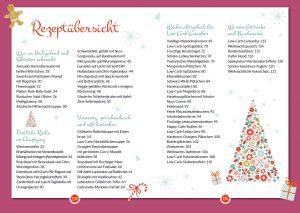 Low Carb Weihnachten-Rezeptregister