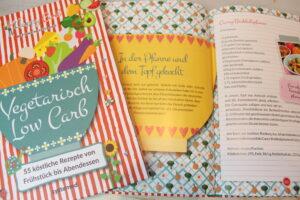 Vegetarisch Low Carb Buch