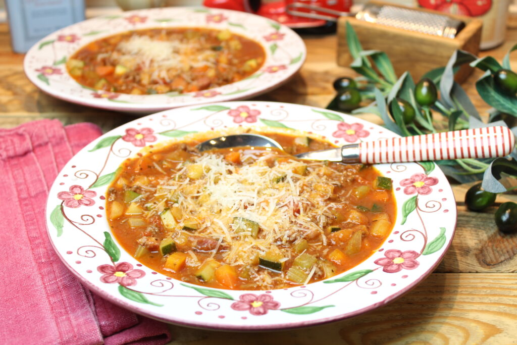 Bolognesesuppe