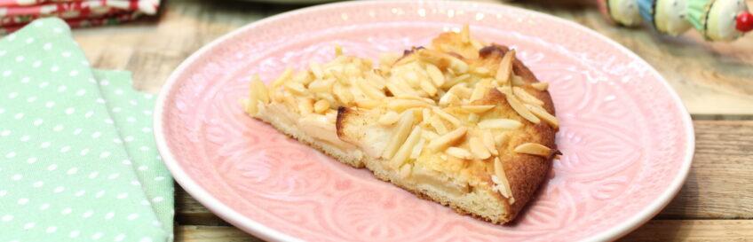 Apfel-Zimt-Crostata mit Mandelknusper